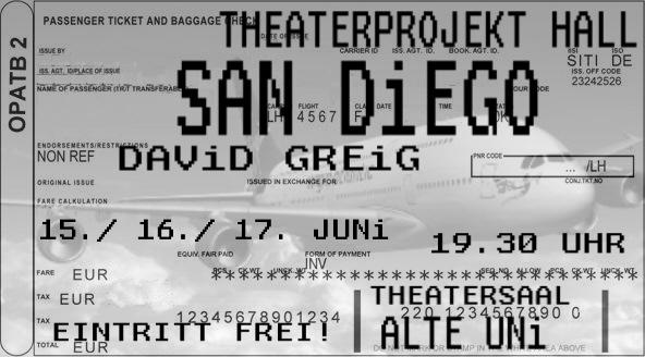 Flyer San Diego