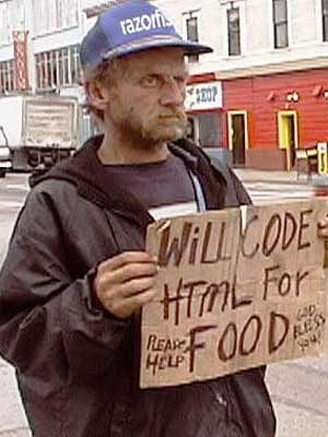 HTML for food