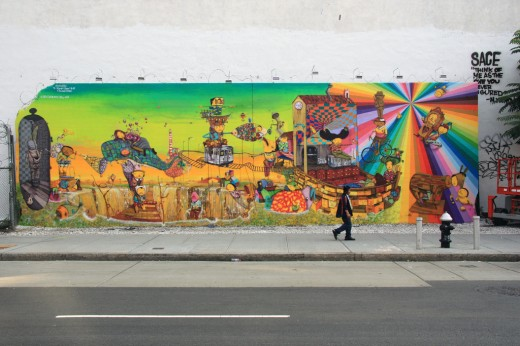 Manhattan Mural Os Gemeos